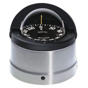 Ritchie DNP-200 Navigator Compass - Binnacle Mount - Polished Stainless Steel/Black