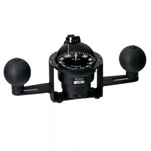 Ritchie YB-500 Globemaster Compass - Yoke Mounted - Black - 5 Degree card - 12V