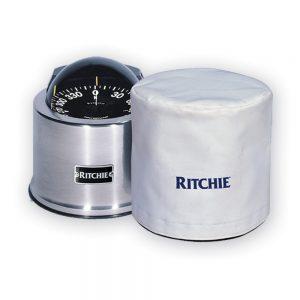 "Ritchie GM-5-C 5"" GlobeMaster Binnacle Mount Compass Cover - White"