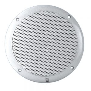 """Poly-Planar 6"""" Dual Cone Integral Grill Speaker - (Pair) White"""
