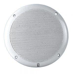 "Poly-Planar 4"" 2-Way Coax Integral Grill Marine Speaker - (Pair) White"