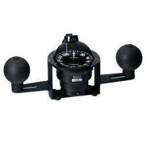 Ritchie YB-600 Globemaster Steel Boat Compass - Yoke Mounted - Black