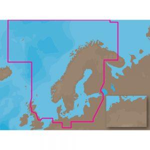 C-MAP MAX EN-M019 - North-Baltic Seas - C-Card