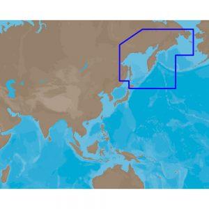 C-MAP MAX AN-M013 - Kamchata Peninsula-Kuril Island - C-Card