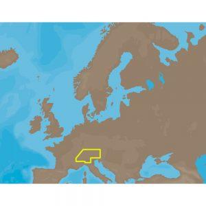 C-MAP MAX EN-M068 - Central European Lakes - C-Card
