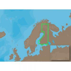 C-MAP MAX EN-M326 - Finland Lakes - C-Card