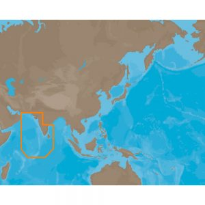 C-MAP MAX IN-M201 - Eastern India-Maldives - C-Card