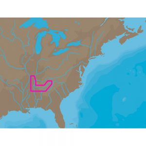 C-MAP NT+ NA-C041 - TN River Paducah-Knoxville - C-Card