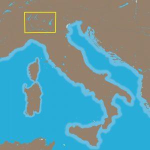 C-MAP NT+ EM-C940 - Italian Lakes - Furuno FP-Card
