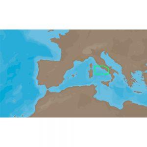 C-MAP NT+ EM-C952 - Civitavecchia-Acciaroli - Furuno FP-Card