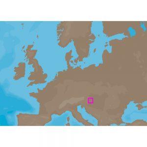 C-MAP NT+ EN-C077 - Balaton Lake - Furuno FP-Card