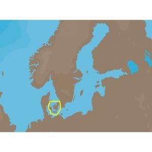 C-MAP NT+ EN-C109 - Kullen-Malmoe & Sjealland - Furuno FP-Card