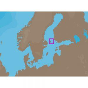 C-MAP NT+ EN-C308 - Aaland North - Furuno FP-Card