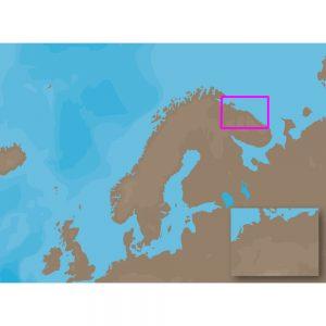 C-MAP NT+ EN-C630 - Pechenga-Lumbovskiy Gulf - Furuno FP-Card