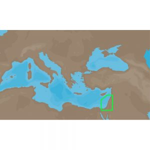 C-MAP NT+ ME-C006 - Israel & Lebanon - Furuno FP-Card