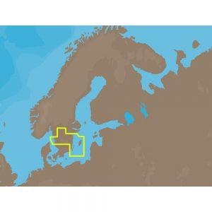 C-MAP NT+ EN-C256 - Inland Sweden - Furuno FP-Card
