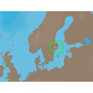 C-MAP NT+ EN-C257 - Norrkoeping-Gaevle - Furuno FP-Card