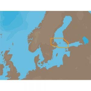 C-MAP NT+ EN-C260 - Aaland Passages - Furuno FP-Card