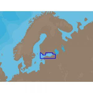 C-MAP NT+ EN-C325 - Gulf of Finland - Furuno FP-Card