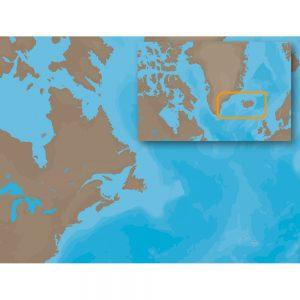 C-MAP NT+ EN-C402 - Icel & Faeroe Islands - Furuno FP-Card