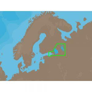 C-MAP NT+ EN-C604 - Russian Lakes - Furuno FP-Card