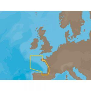C-MAP NT+ EW-C203 - France Atlantic Coasts - Furuno FP-Card