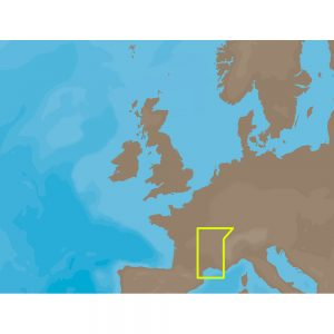 C-MAP NT+ EW-C221 - Le Rhone Marseille - Furuno FP-Card