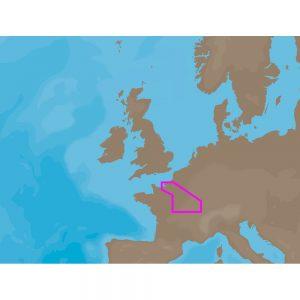 C-MAP NT+ EW-C223 - la Seine Le Havre-Dijon - Furuno FP-Card