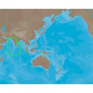 C-MAP NT+ IN-C201 - Eastern India & Maldives - Furuno FP-Card