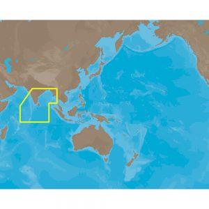C-MAP NT+ IN-C202 - Maldives-Gulf of Martaban - Furuno FP-Card