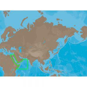 C-MAP NT+ ME-C202 - Red Sea-Arabian Sea - Furuno FP-Card