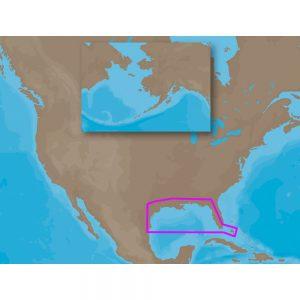 C-MAP NT+ NA-C405 - Gulf of Mexico OCS Block Char - Furuno FP-Card