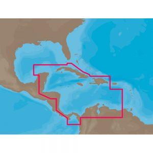 C-MAP NT+ NA-C502 - Western Caribbean Sea - Furuno FP-Card