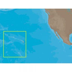 C-MAP NT+ NA-C603 - Hawaiian Islands - Furuno FP-Card