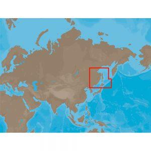 C-MAP NT+ RS-C207 - Hokkaido & Sakhalin Islands - Furuno FP-Card