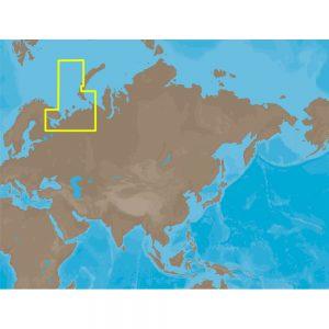 C-MAP NT+ RS-C209 - White Sea Barents Sea East Fishing - Furuno FP-Card