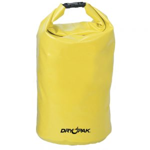 "Dry Pak Roll Top Dry Gear Bag - 9-1/2"" x 16"" - Yellow"