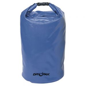 "Dry Pak Roll Top Dry Gear Bag - 11-1/2"" x 19"" - Blue"