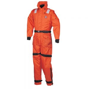 Mustang Deluxe Anti-Exposure Coverall & Worksuit - SM - Orange