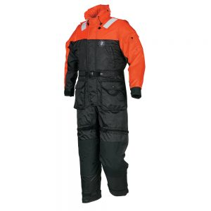 Mustang Deluxe Anti-Exposure Coverall & Worksuit - XXXL - Orange/Black