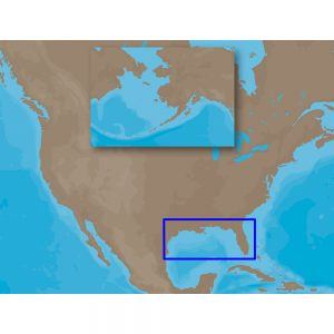 C-MAP MAX NA-M420 - Gulf of Mexico: Bathy - SD™ Card
