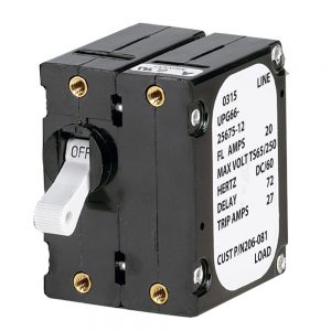Paneltronics 'A' Frame Magnetic Circuit Breaker - 15 Amps - Double Pole