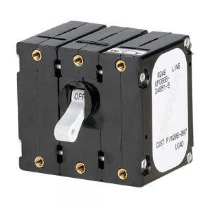 Paneltronics Breaker 30 Amps w/Reverse Polarity Trip Coil - White