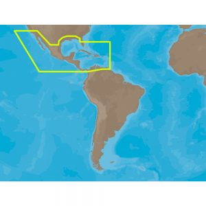 C-MAP MAX NA-M027 - Central America & The Caribbean - SD™ Card