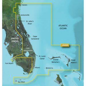 Garmin BlueChart® g3 Vision® HD - VUS009R - Jacksonville - Key West - microSD™/SD™