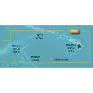 Garmin BlueChart® g3 Vision® HD - VUS027R - Hawaiian Islands - Mariana Islands - microSD™/SD™