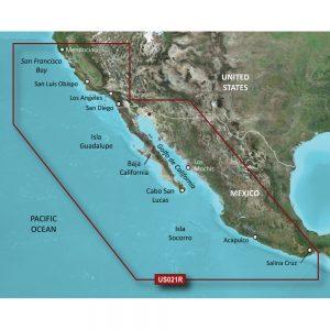 Garmin BlueChart® g2 Vision® HD - VUS021R - California-Mexico - microSD™/SD™