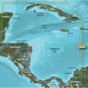 Garmin BlueChart® g2 Vision® HD - VUS031R - Southwest Caribbean - microSD™/SD™