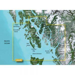 Garmin BlueChart® g3 Vision® HD - VUS024R - Wrangell - Dixon Entrance - microSD/™SD™