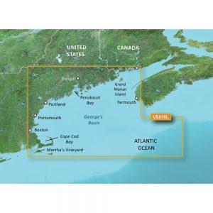 Garmin BlueChart® g3 Vision® HD - VUS510L - St. John - Cape Cod - microSD™/SD™